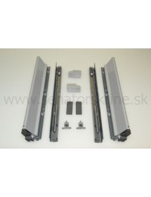 Tandembox 500 mm šedý, výšky M BLUM TBX500M